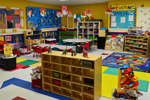 Our Preschool Classroom at Rattles to Tassels